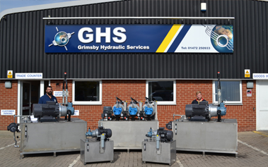 Global Hydraulic Services Power Pack